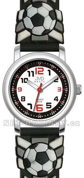 Náramkové hodinky JVD basic J7007.11.3 hodinky pro kluky, chlapce J7007.10.2