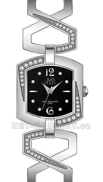 Náramkové hodinky JVD steel J4109.1.1, J4109.2.2, J4109.3.3, dámské hodinky J4109.2.2