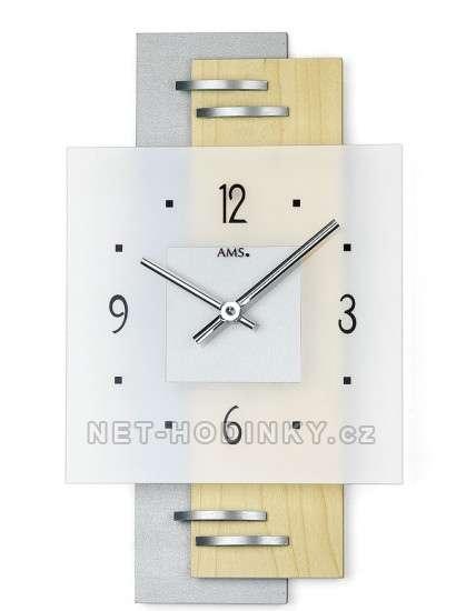 Nástěnné hodiny AMS 9248