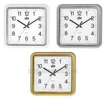 Plastové hodiny čtverec E01.2928.S