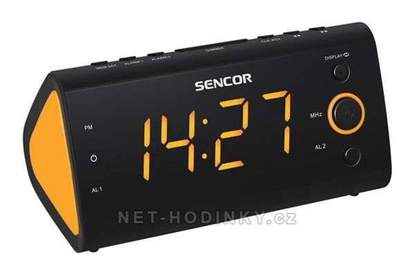 Sencor Radiobudík SENCOR SRC-170 GN oranžová