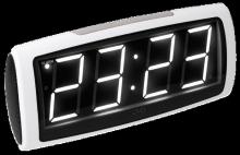 Digitální budík JVD system SB1819.7 Bílé LED ČÍSLICE