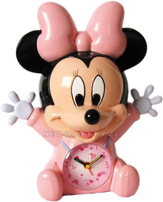 Disney Budík dětský DISNEY Minnie Mouse B05MIN modrá, Budík dětský DISNEY Mickey Mouse B05MIK modrá B05MIN Minnie Mouse