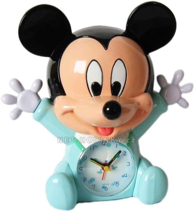 Disney Budík dětský DISNEY Minnie Mouse B05MIN modrá, Budík dětský DISNEY Mickey Mouse B05MIK modrá B05MIK Mickey Mouse