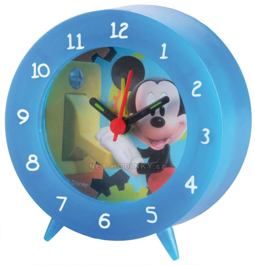 Disney Budíky DISNEY B957528, B957533 modrá, B957530 růžová, B957504, B957510 B957533