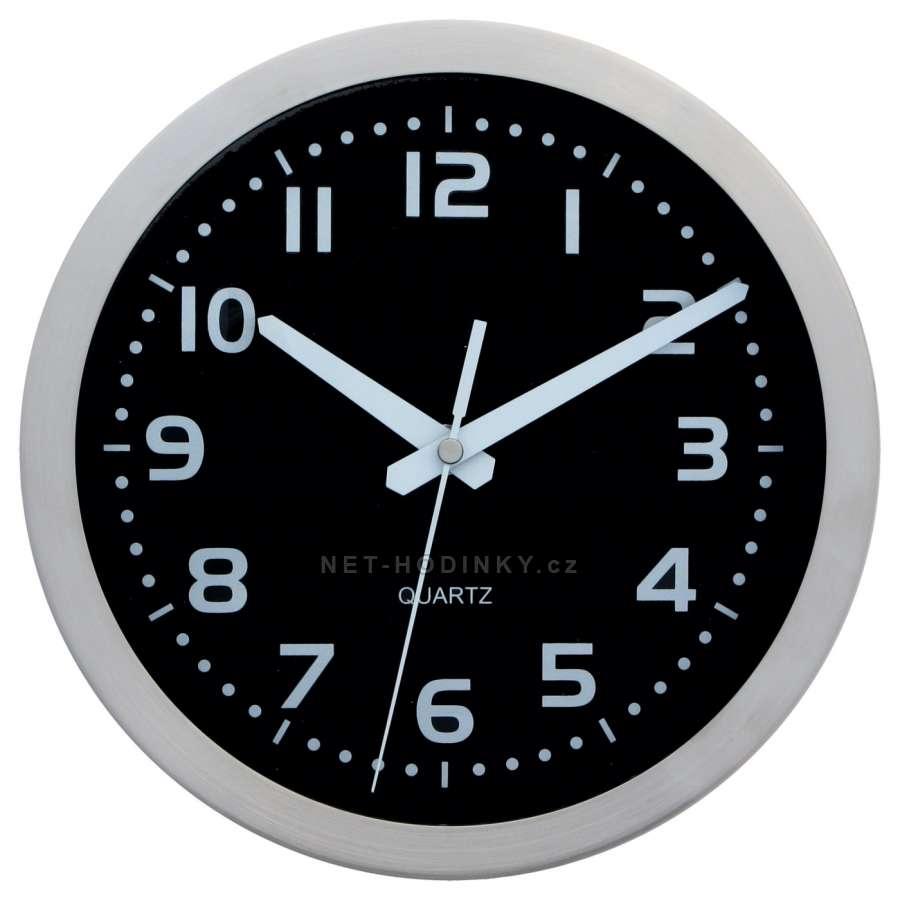Hodiny nástěnné kovové (H6004Bd) , hodiny na zeď