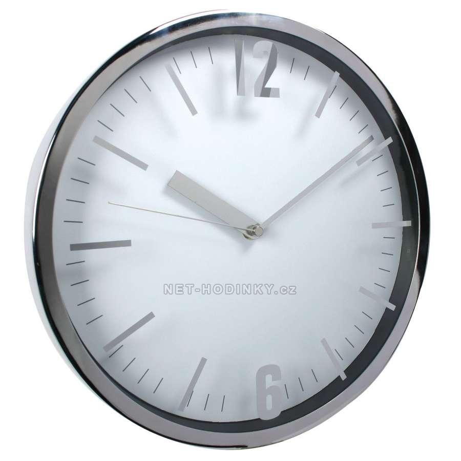 Hodiny nástěnné kovové HDA9028.1, hodiny na stěnu