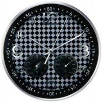 Hodiny nástěnné kovové (HDA9029.W) SWEEP
