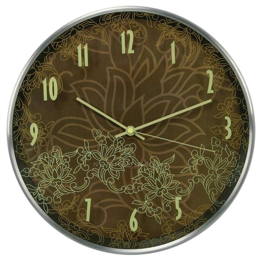 Hodiny nástěnné kovové (HDA9033), hodiny na stěnu
