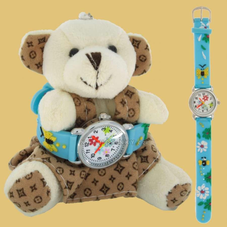 Disney Náramkové dětské hodinky NHT255, hodinky pro holky, pro kluky, dívčí hodinky, chlapecké hodinky Flower