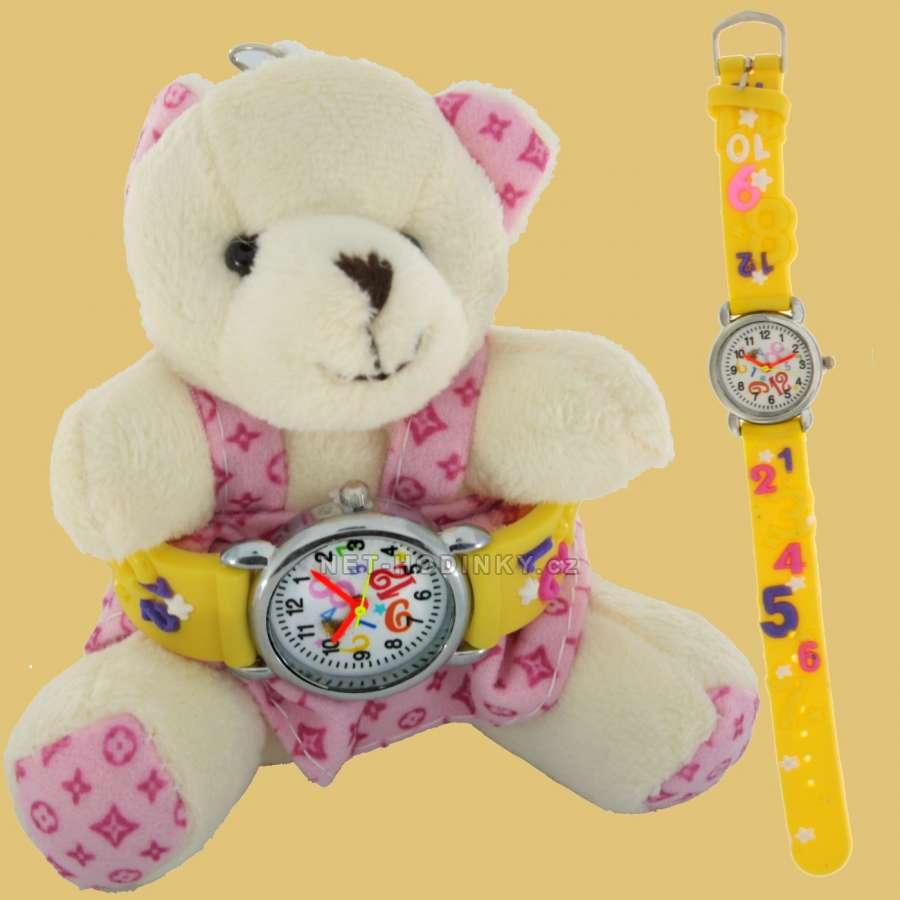 Disney Náramkové dětské hodinky NHT255, hodinky pro holky, pro kluky, dívčí hodinky, chlapecké hodinky Numbers