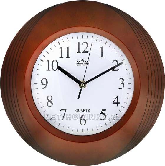 Plastové hodiny E01.2811.52 na zeď