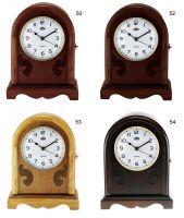 Dřevěné stolní hodiny s praktickou skříňkou E03.2696