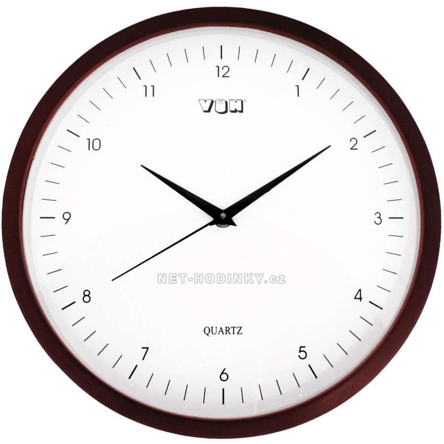 Hodiny nástěnné dřevěné (HFR112),quartz, hodiny na zeď