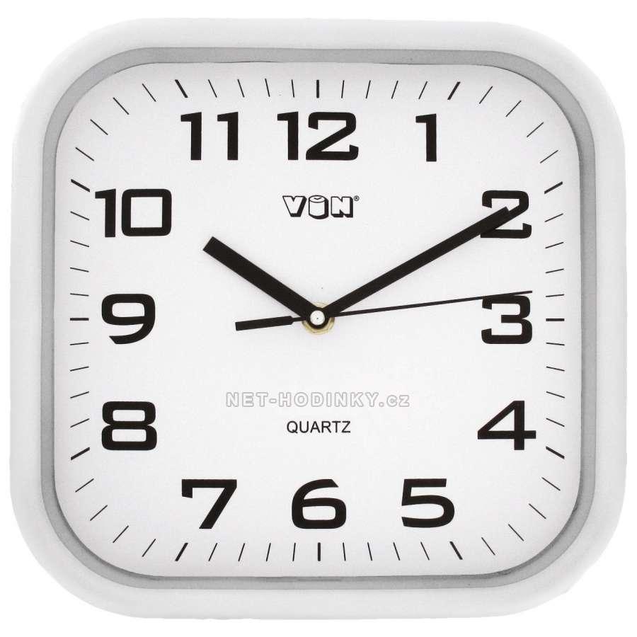 Nástěnné hodiny na stěnu, nástěnné hodiny na zeď H7260W bílá