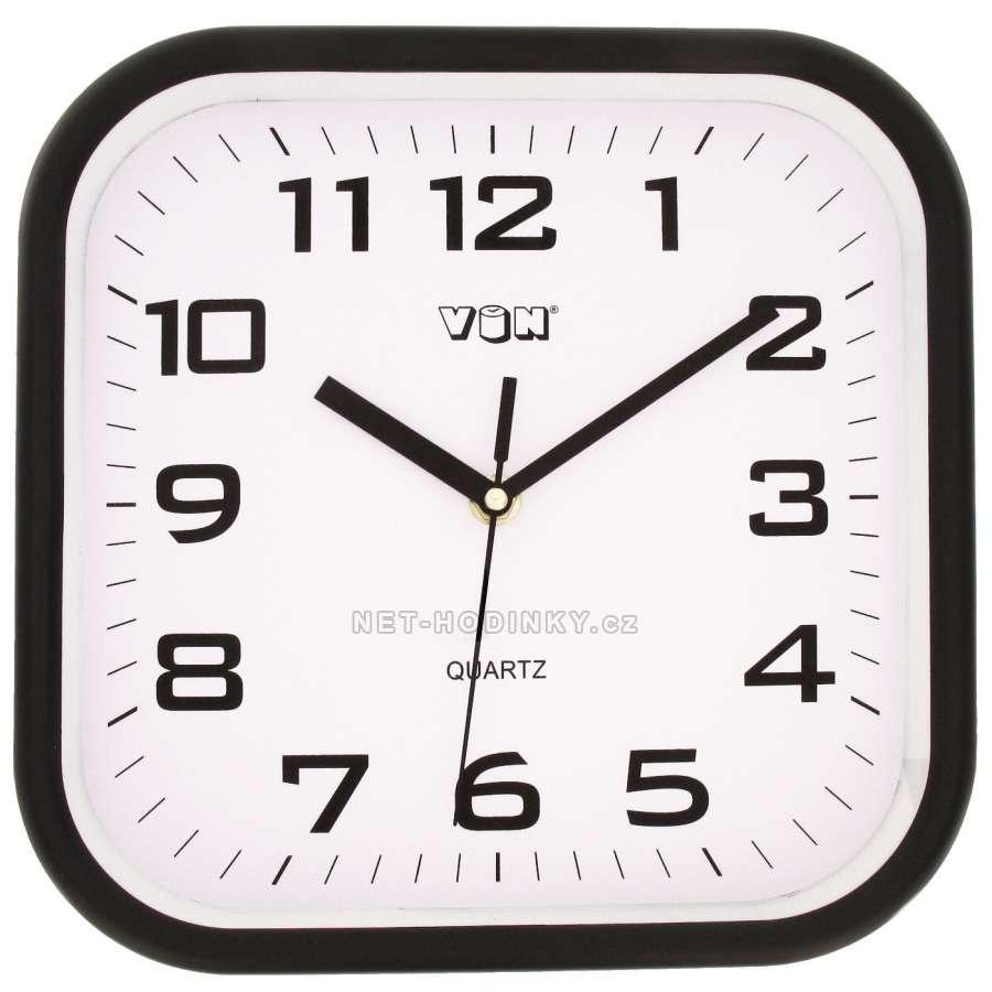 Nástěnné hodiny na stěnu, nástěnné hodiny na zeď H7260B černá