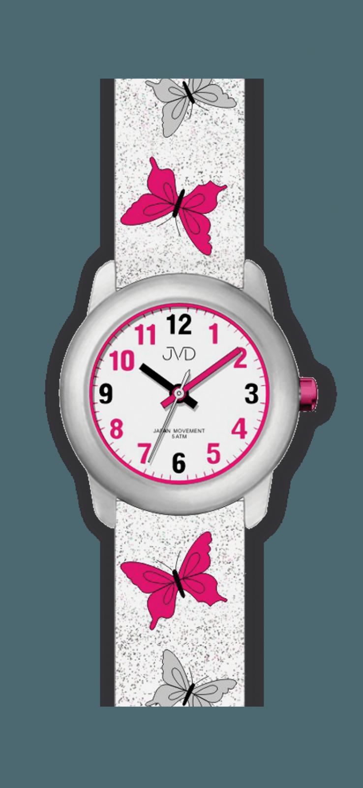 JVD Náramkové dívčí hodinky, dětské hodinky pro holky J7142.5.3