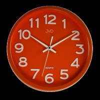 Hodiny JVD červené HX2413.5