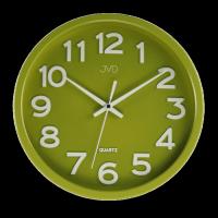 Hodiny JVD zelené HX2413.4