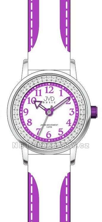 JVD Náramkové dětské hodinky pro holky, dívčí hodinky J7089.7.7