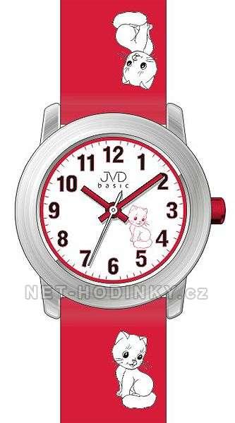 JVD Náramkové dětské hodinky pro holky, dívčí hodinky, hodinky pro kluky J 7114. 3.3 SKLADEM