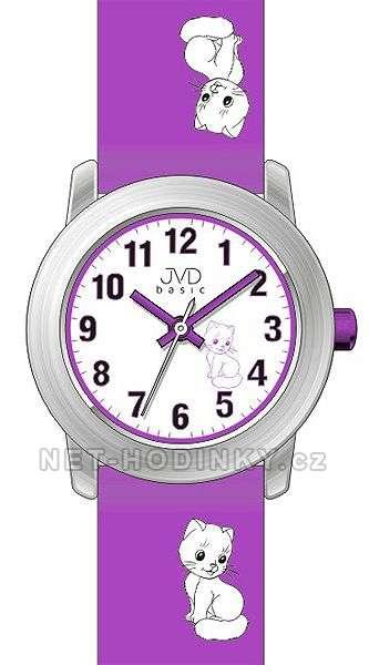 JVD Náramkové dětské hodinky pro holky, dívčí hodinky, hodinky pro kluky J 7114. 4.4