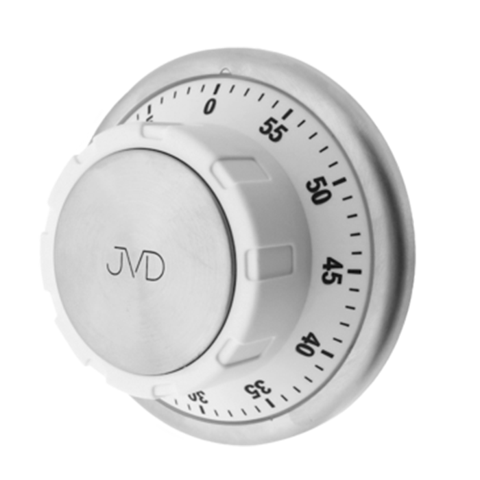 Mechanická minutka JVD bílá DM98.2