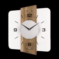 Nástěnné hodiny JVD Brush oak NS20131/78