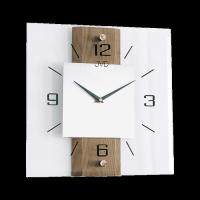 Nástěnné hodiny JVD Brush oak NS2231/78