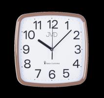 Rádiem řízené hodiny JVD met. rose RH616.7