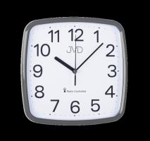 Rádiem řízené hodiny JVD met. šedá RH616.6