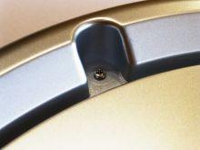Hodiny do koupelny a hodiny do sauny - dobrá rada nad zlato! - 3751385 - detail rámečku vodotěsných nástěnných hodin