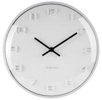 Nástěnné hodiny Designové nástěnné hodiny 5649WH Karlsson 25cm Nástěnné hodiny