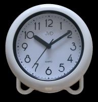 Saunové hodiny JVD bílé SH018
