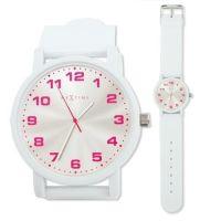 Designové hodinky 6011 Nextime Dash White