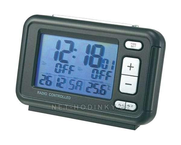 La Crosse Technology Budík DCF s velkým displejem, Dvojitý alarm