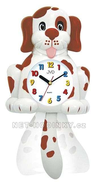Dětské nástěnné hodiny JVD HF 61. 1.1, HF 61.2.2 HF 61. 1.1