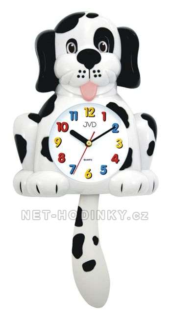 Dětské nástěnné hodiny JVD HF 61. 1.1, HF 61.2.2 HF 61.2.2