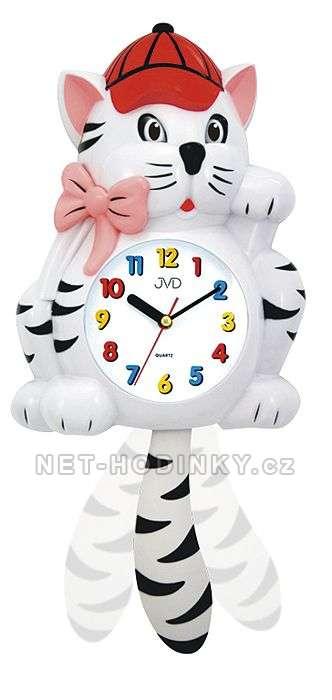 Dětské nástěnné hodiny JVD HF 64.1.1, HF 64.2.2 HF 64.2.2