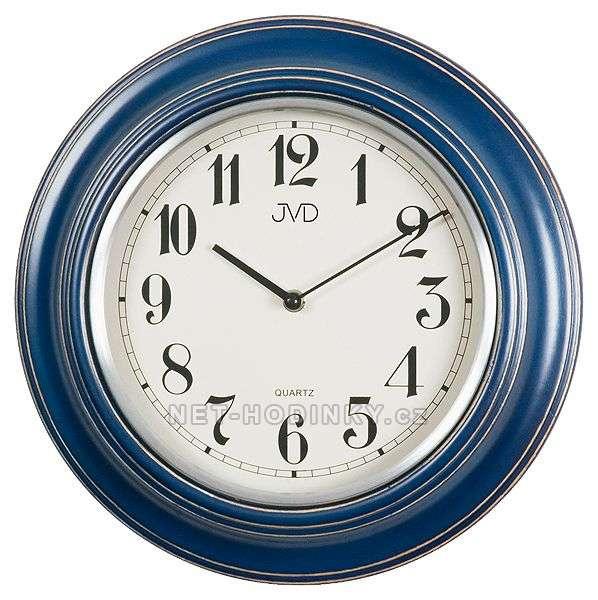 N 27044.1.1, N 27044.2 - Analogové bateriové nástěnné hodiny JVD N 27044.1.1