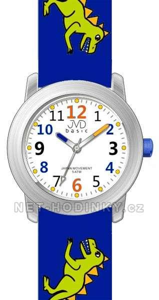 JVD Náramkové dětské hodinky J7123.1 tm. modrá, J7123.2 zelená, J7123.3 sv. modrá J7123.1 tmavě modrá
