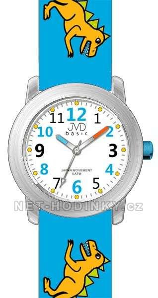JVD Náramkové dětské hodinky J7123.1 tm. modrá, J7123.2 zelená, J7123.3 sv. modrá J7123.3 světlá modrá