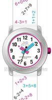 Náramkové dětské hodinky s koženým páskem J7120.1, J7120.2, J7120.3 JVD