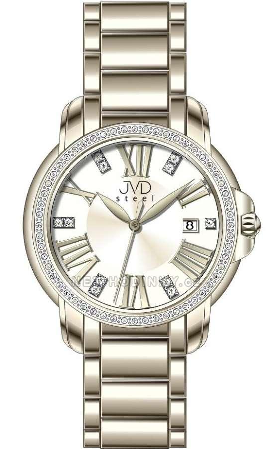 Náramkové hodinky JVD steel W33.1.1 W33.1.1