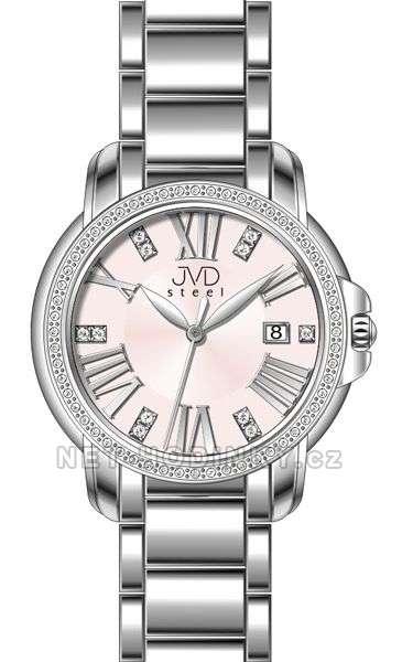Náramkové hodinky JVD steel W33.1.1 W33.3.3