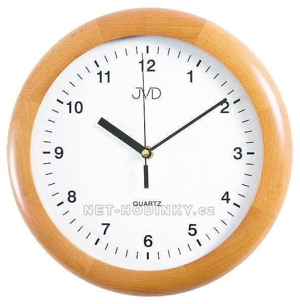 JVD Nástěnné hodiny na stěnu, nástěnné hodiny na zeď N2341.68.3 olše
