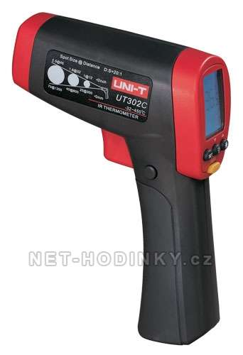 Infračervený digitální teploměr bezdotykový UNI-T UT302CA