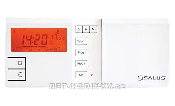 Týdenní programovatelný termostat Euro Thermo 091FL SALUS bílá