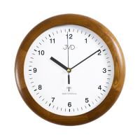 Rádiem řížené nástěnné hodiny JVD system RH2341/11