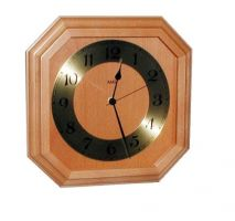 Nástěnné hodiny Nástěnné hodiny dřevěné AMS 5864/4 dub, ams 5864/18 buk - 5864/4 dub Nástěnné hodiny
